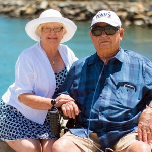 Medicare Costs | couple on boat | HealthCare.com