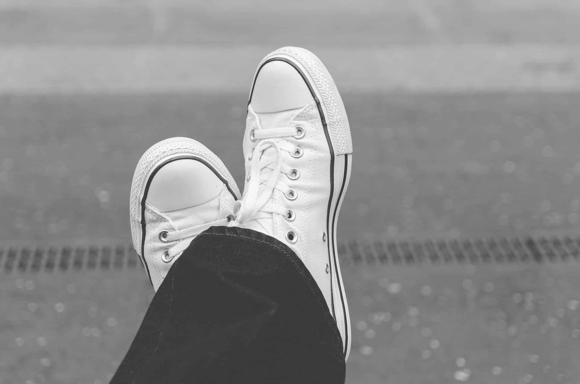 silver sneakers | 2 white shoes